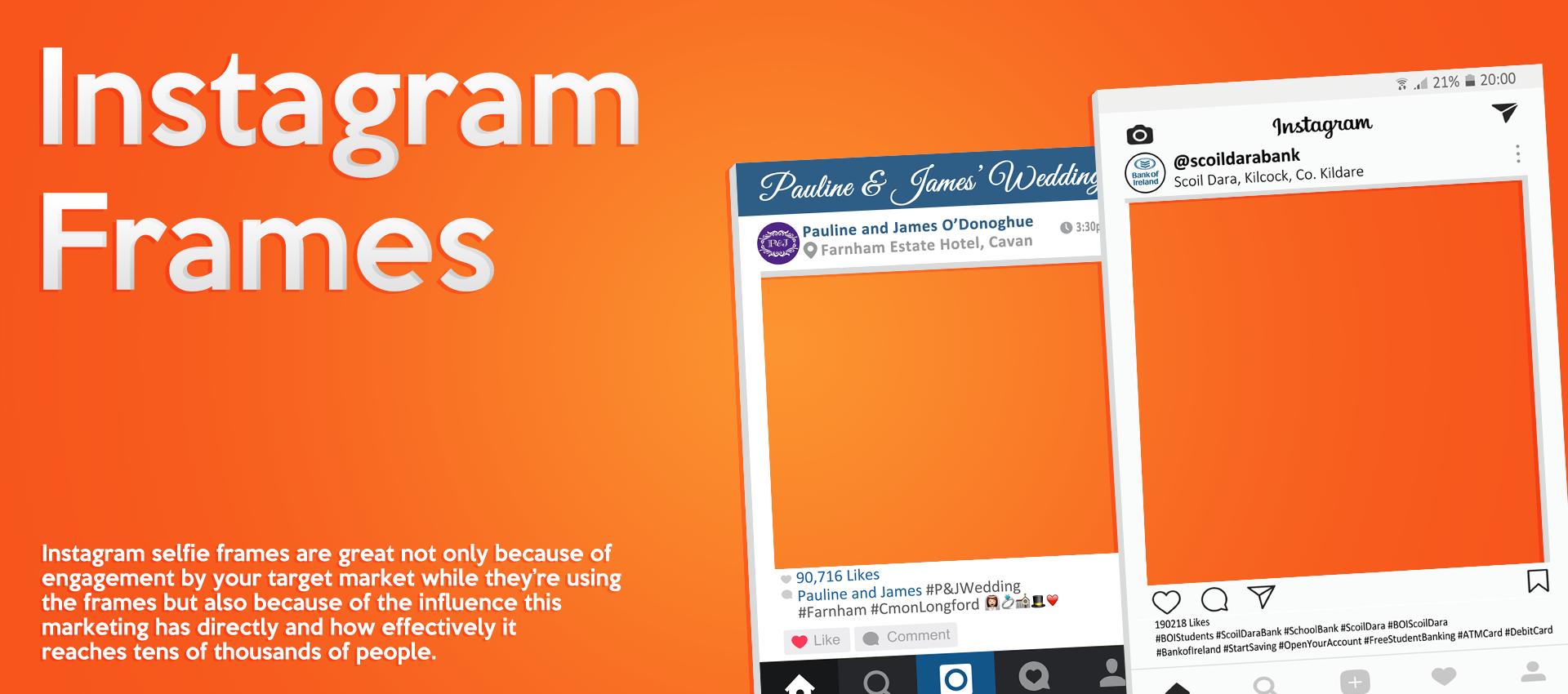 Instagram Frames Banner