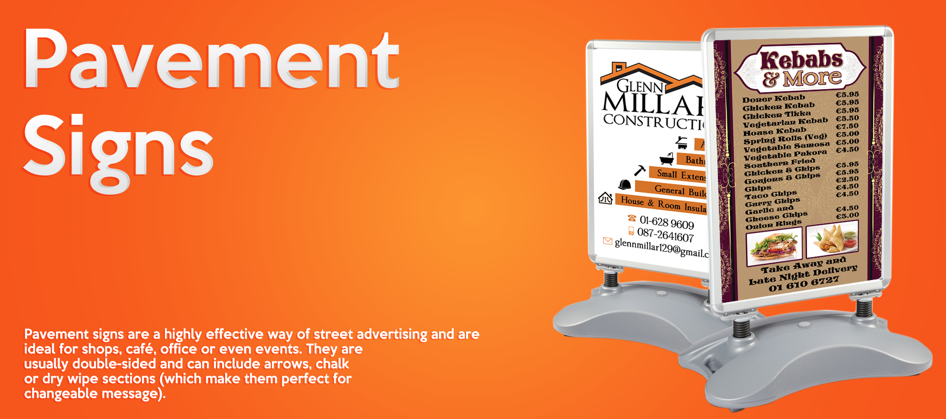 Pavement Signs Banner