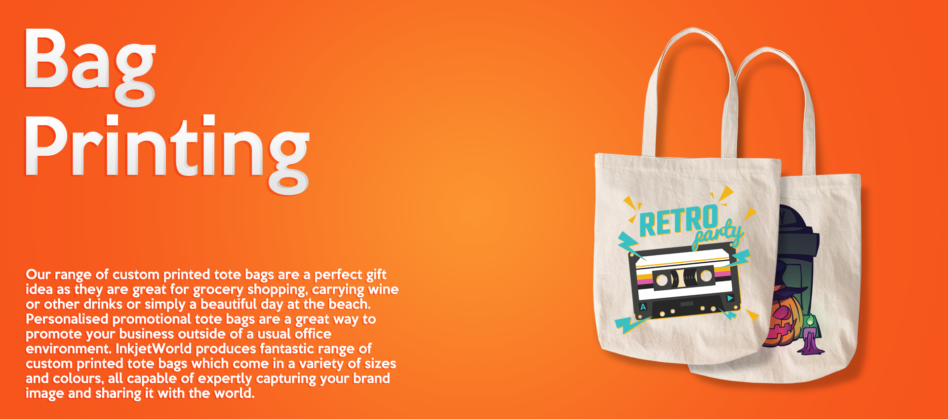 Tote Bags Banner