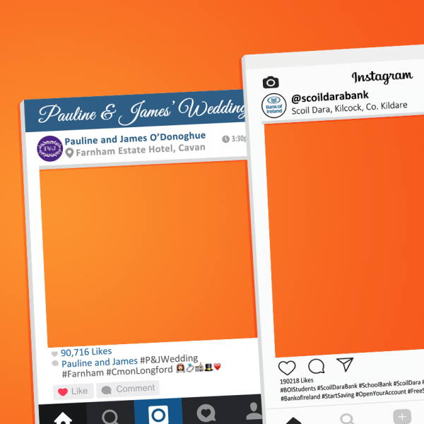 Instagram Frames Product